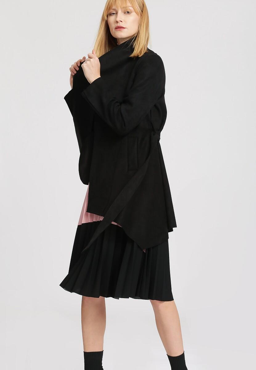 Czarny Płaszcz Profuse