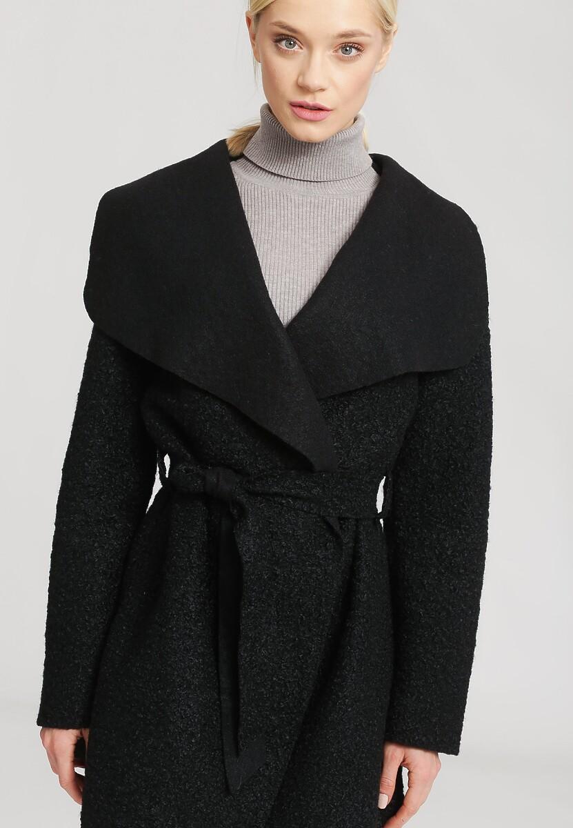 Czarny Płaszcz Inflame