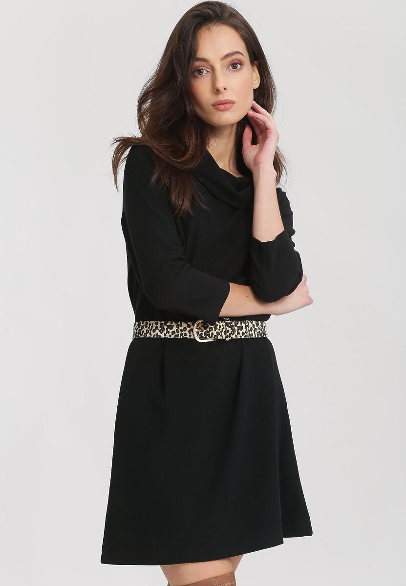 Czarna Sukienka Nether