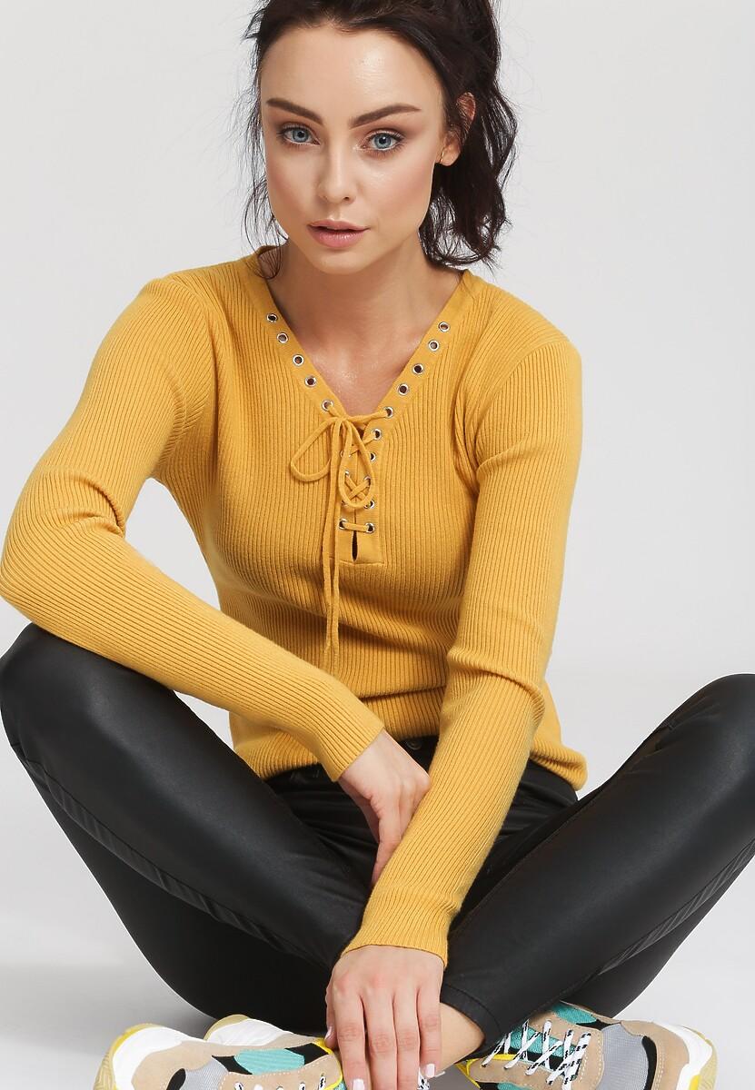 Żółty Sweter Somebody Like You