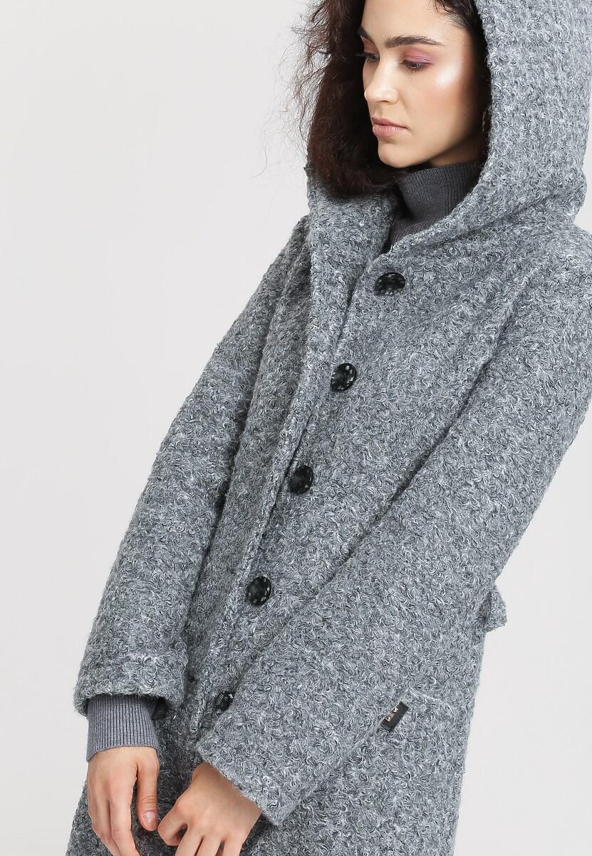 Szary Płaszcz Ladies Up