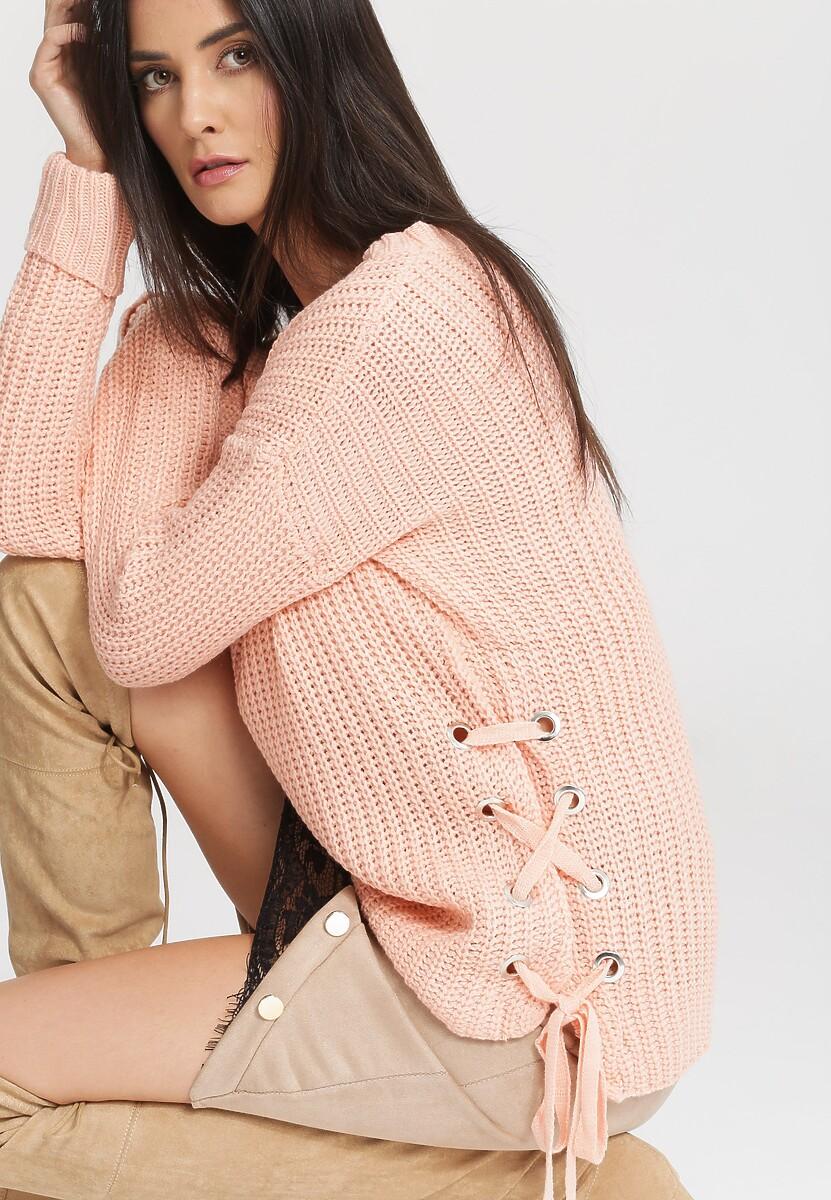 Różowy Sweter Safe Me