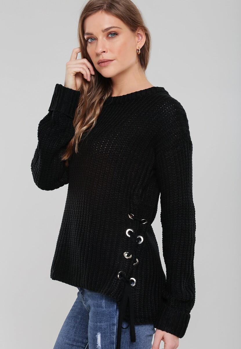 Czarny Sweter Safe Me