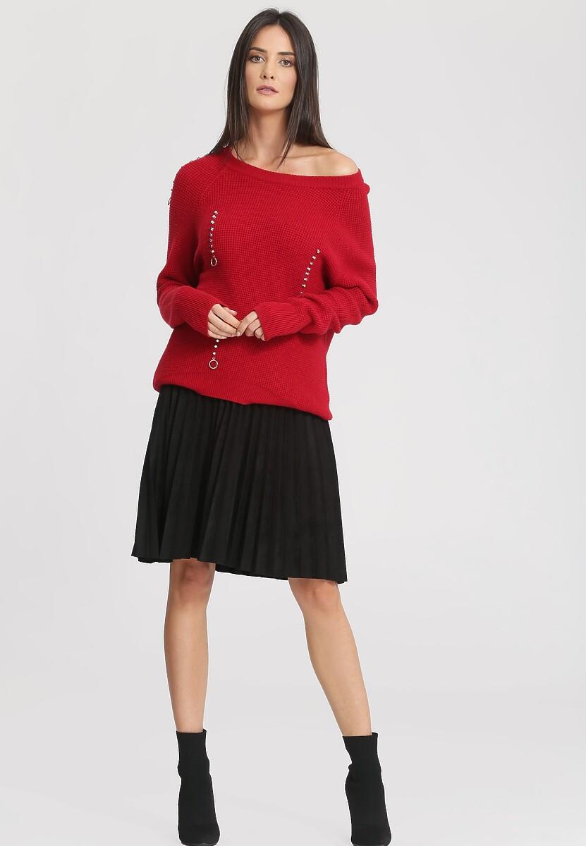 Czerwony Sweter A Little Love