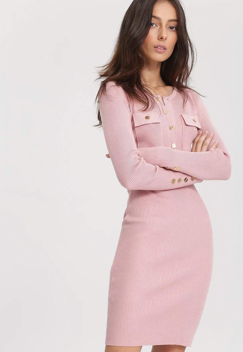 Różowa Sukienka Right Music