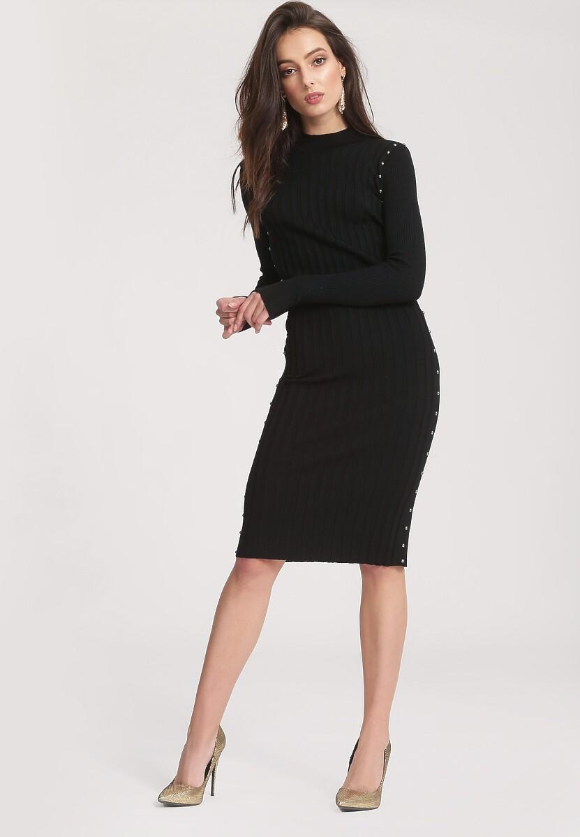 Czarna Sukienka Powder Grey
