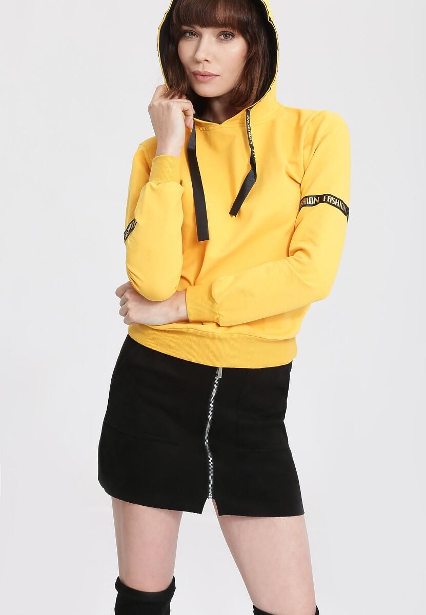 Żółta Bluza Unnerve