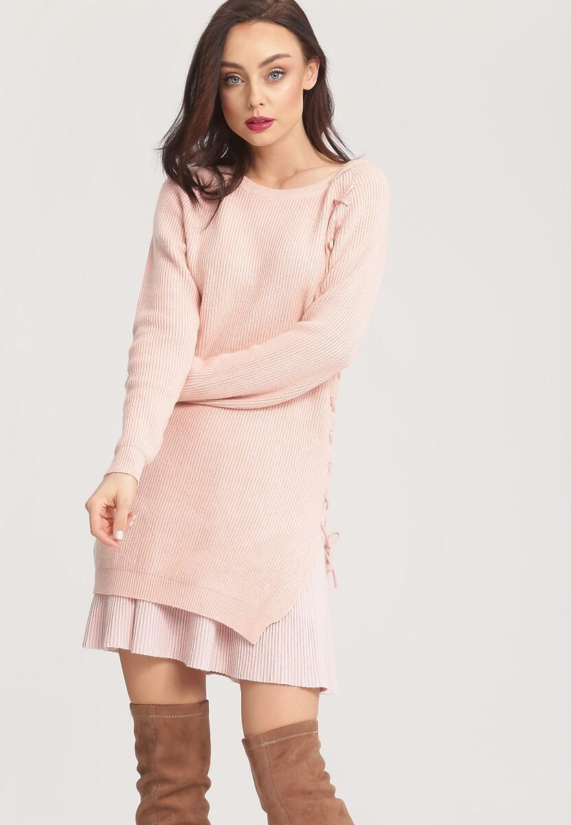 Różowy Sweter Pow Wow