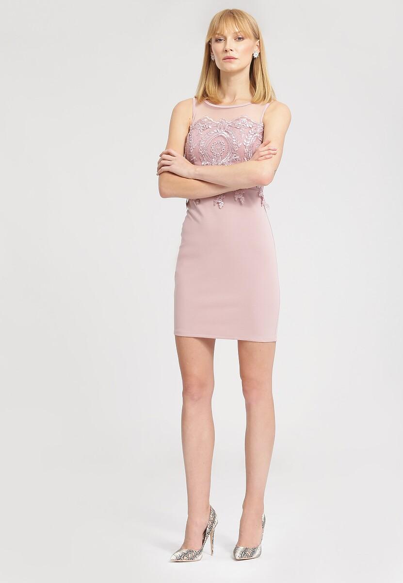 Różowa Sukienka Sun