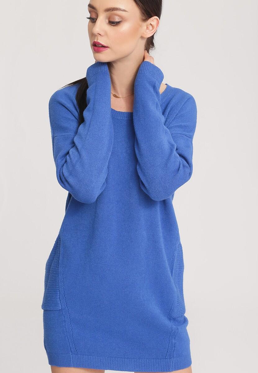 Niebieski Sweter Nonchalance