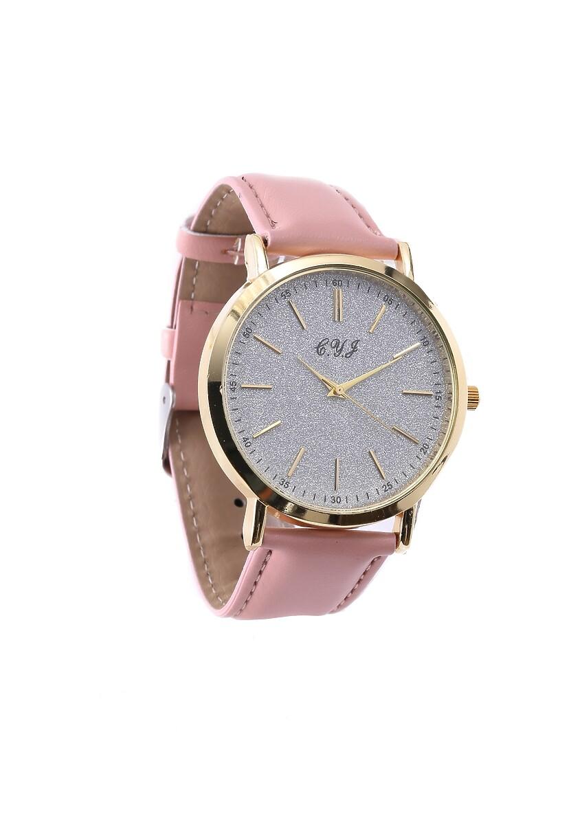 Ciemnoróżowo-Złoty Zegarek You Have Won