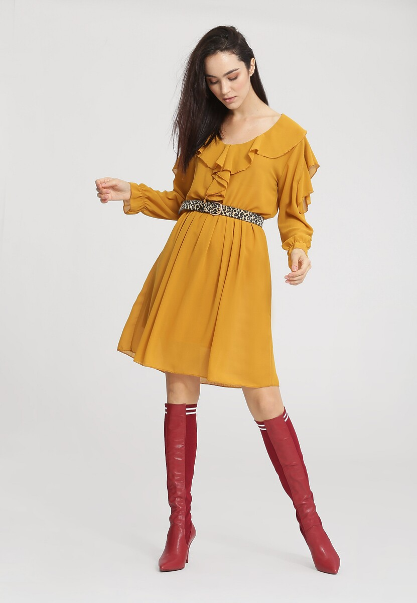 Żółta SukienkaAnother Girl