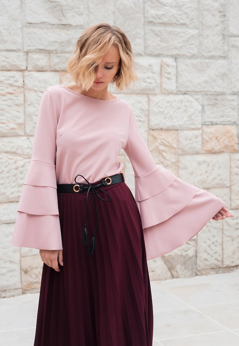Różowa Bluzka Charming