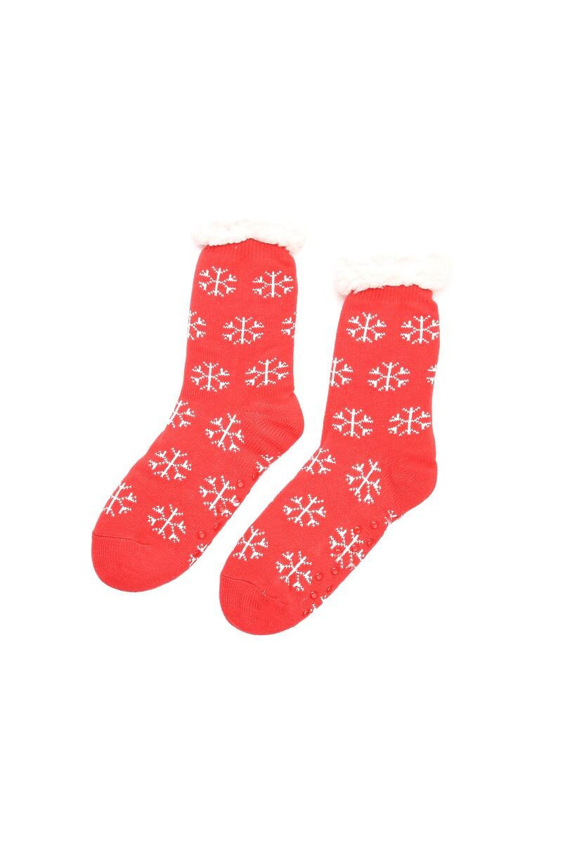 Czerwono-Białe Skarpetki Christmas Time
