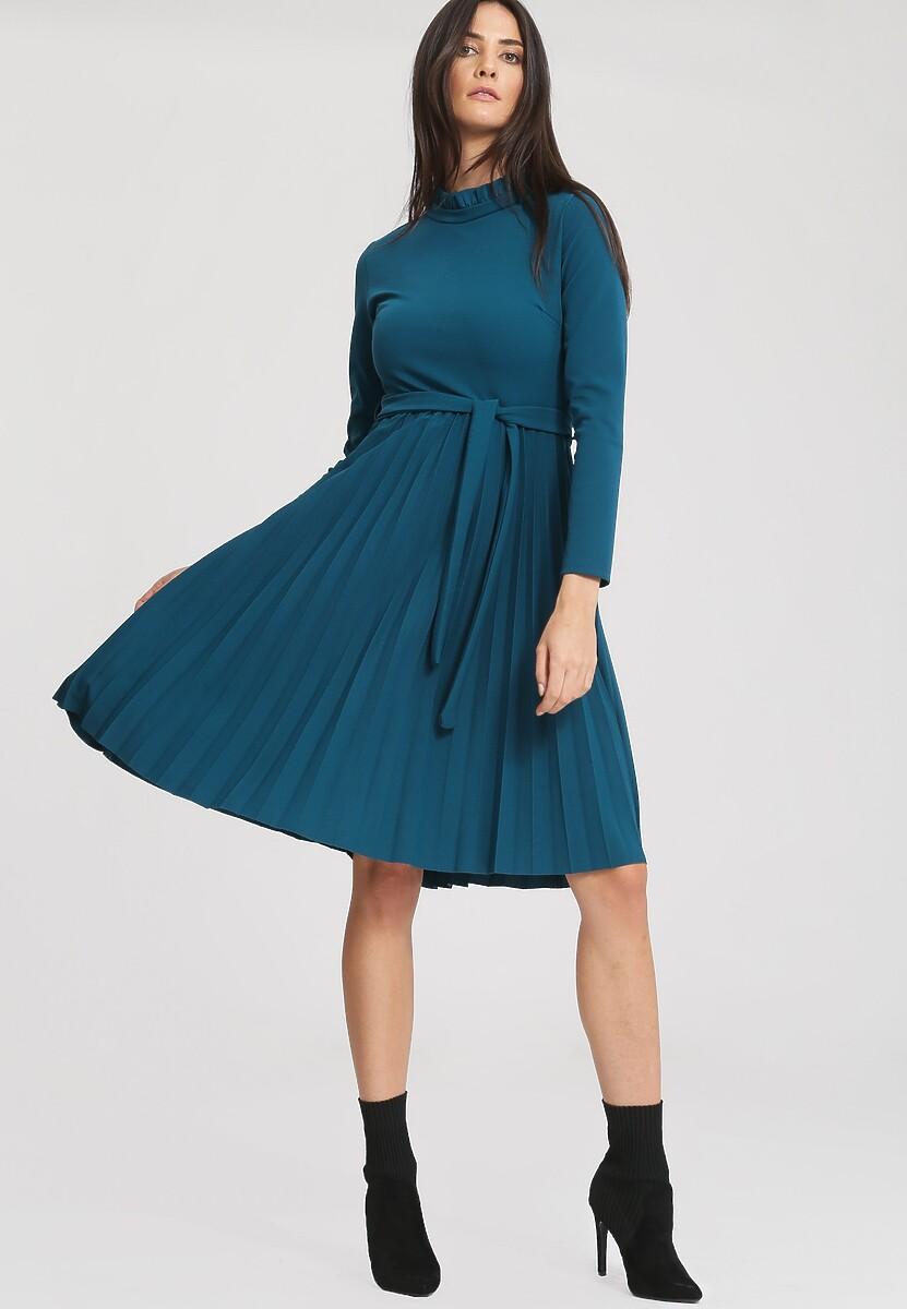 Miętowa Sukienka For You