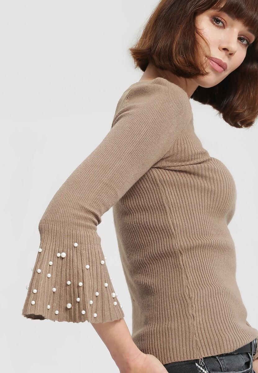 Jasnobrązowy Sweter Chimera