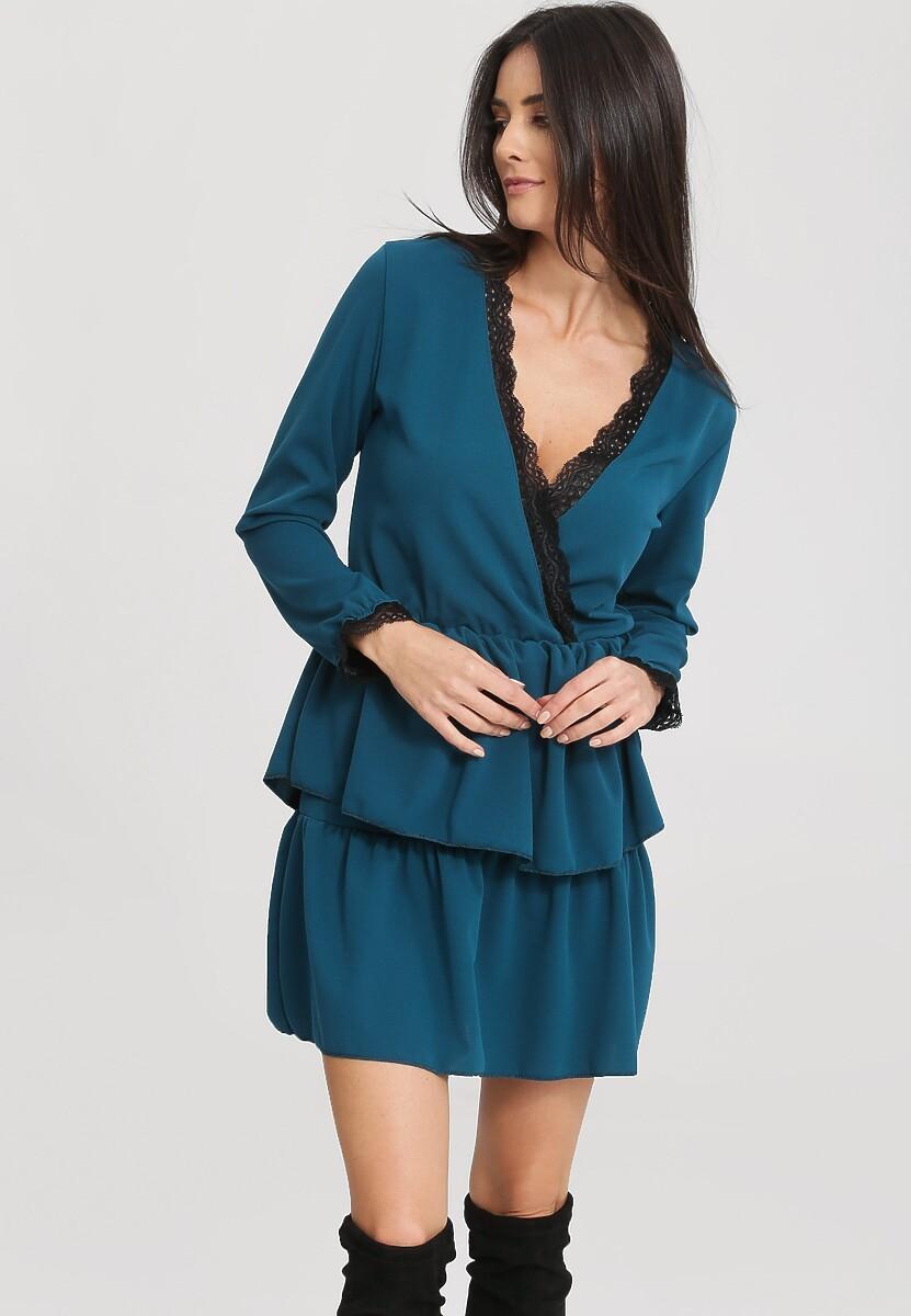 Niebieska Sukienka Summer Love
