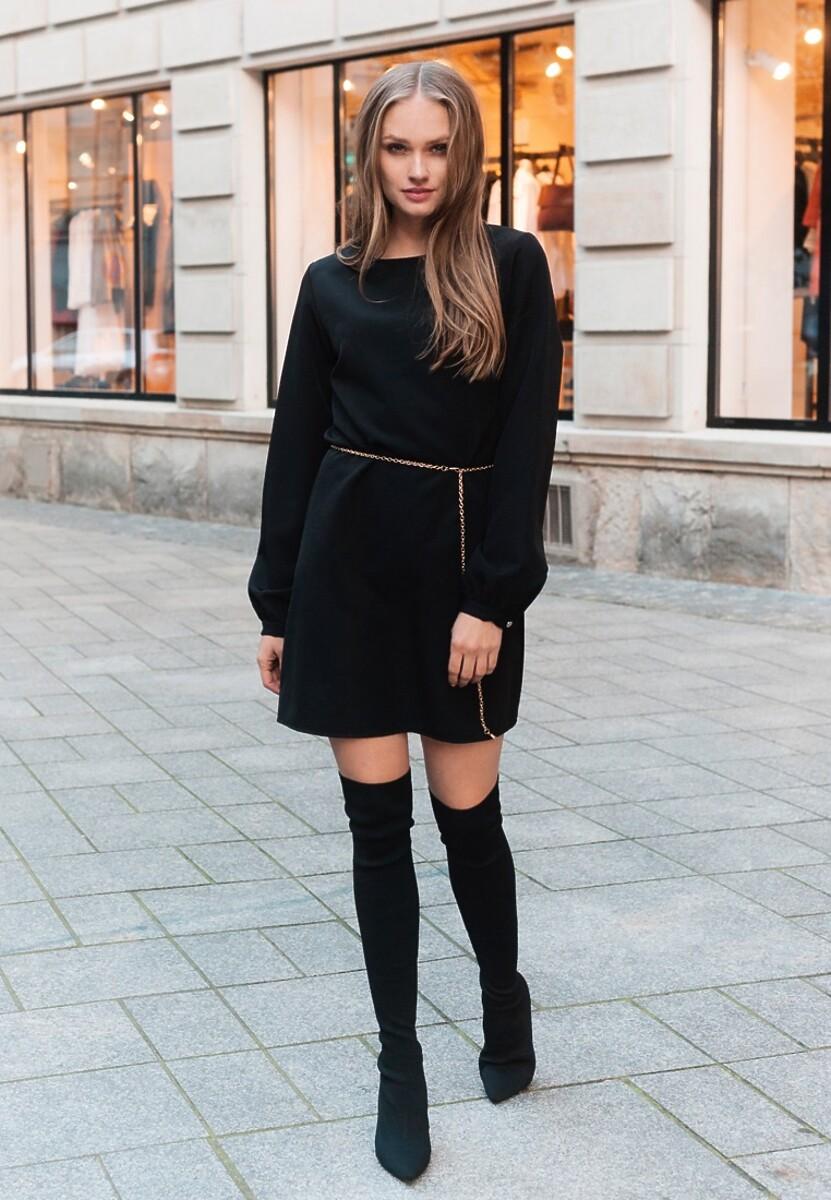 Czarna Sukienka Emotion