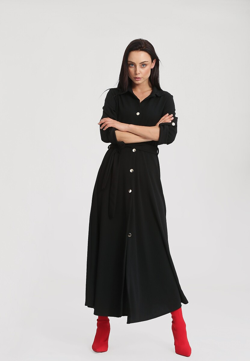 Czarna Sukienka Determination