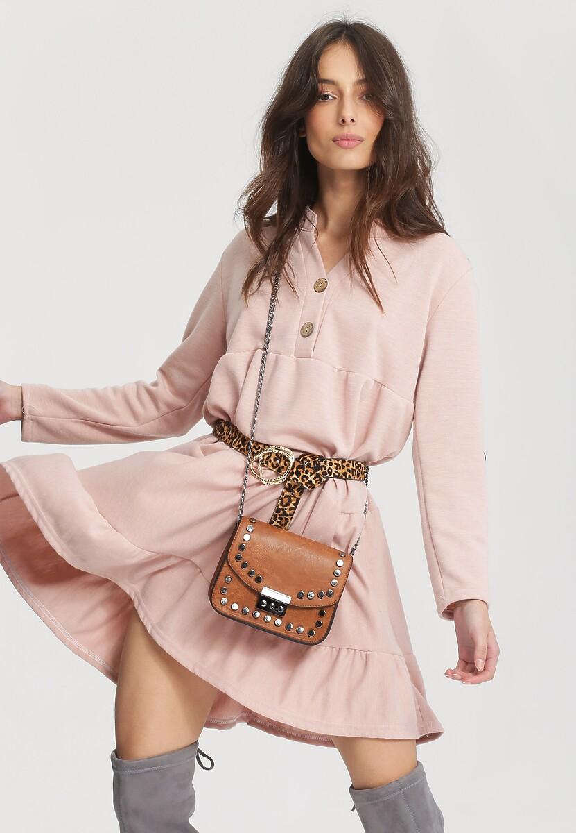 Różowa Sukienka Gentle