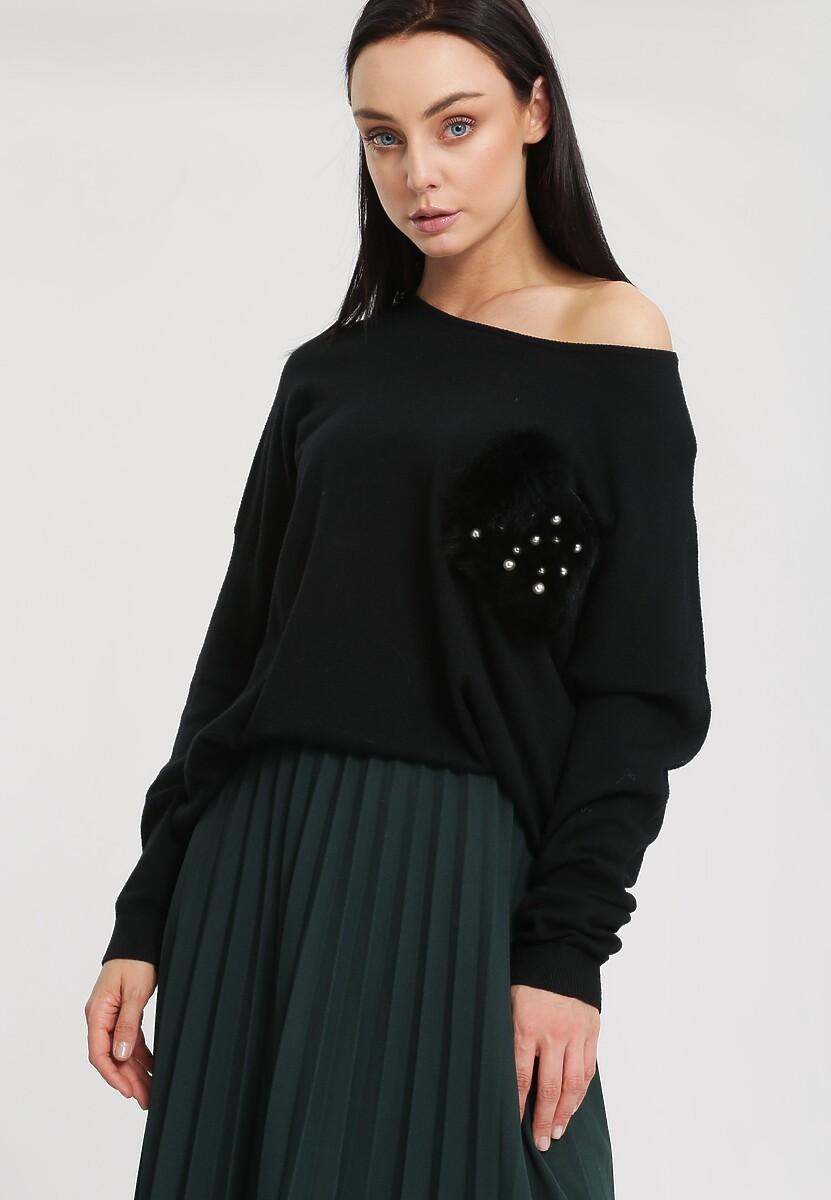 Czarny Sweter Opuscule