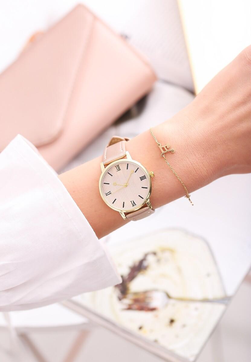 Beżowy Zegarek Cyclamen