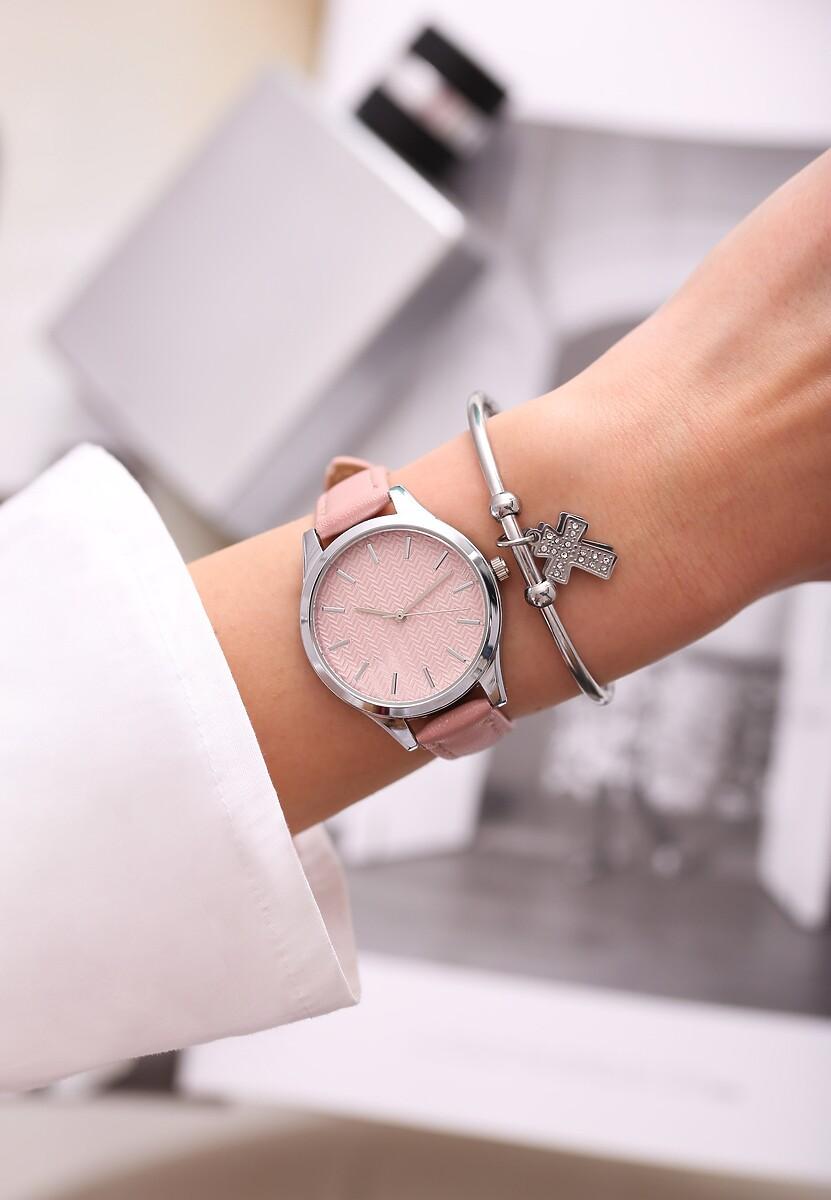 Różowy Zegarek From Day To Day