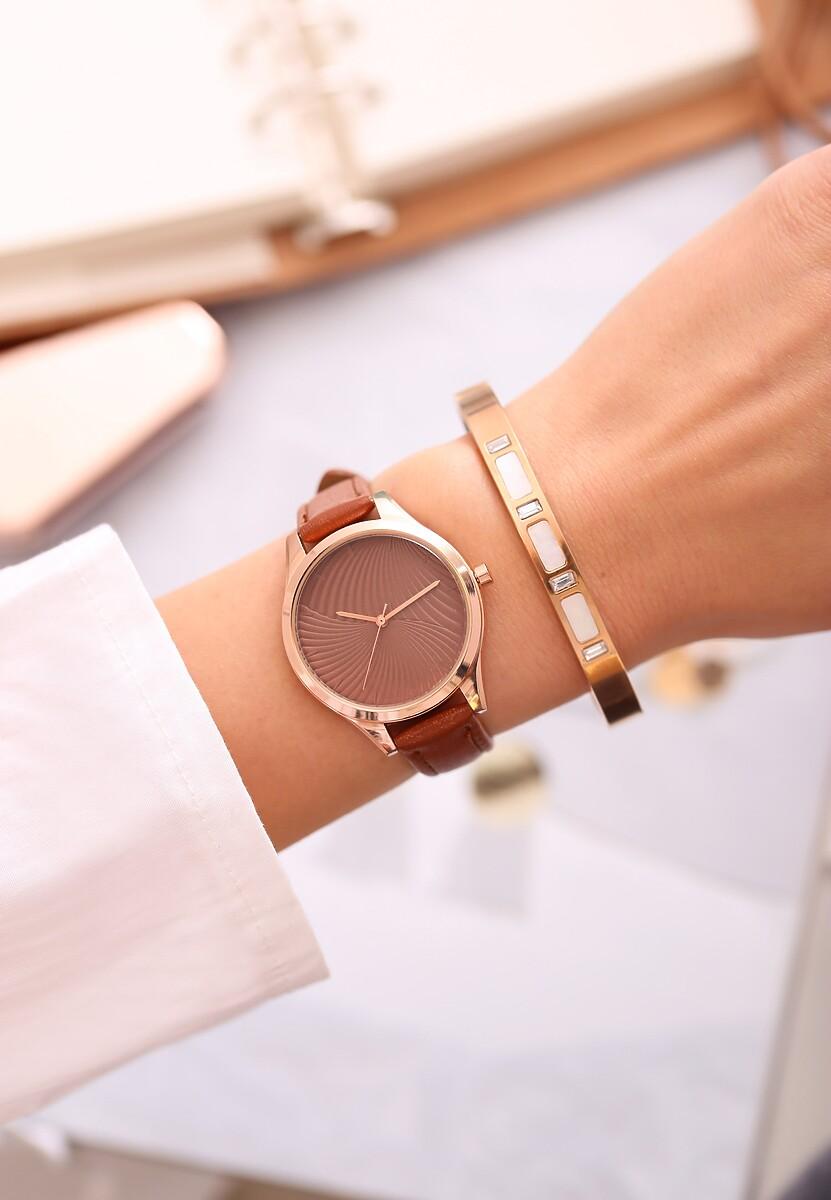 Brązowy Zegarek Portfolio