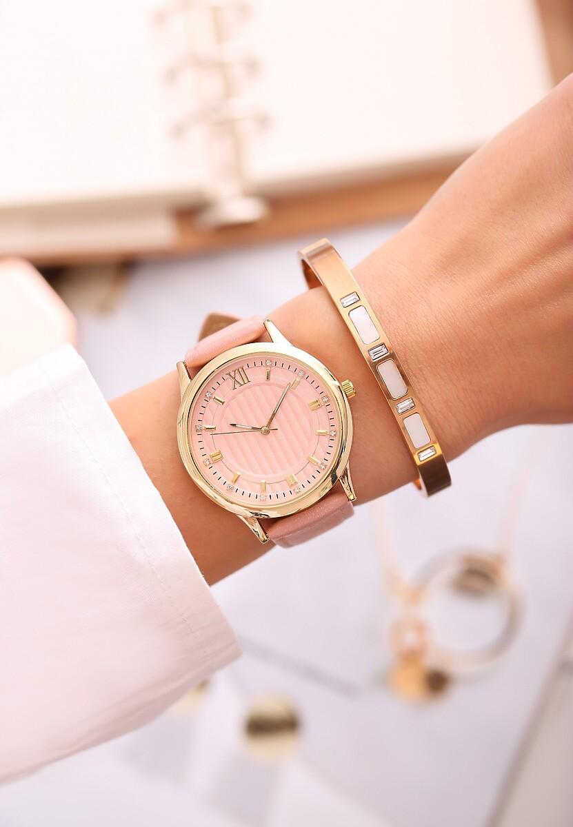 Różowy Zegarek Day-to-day