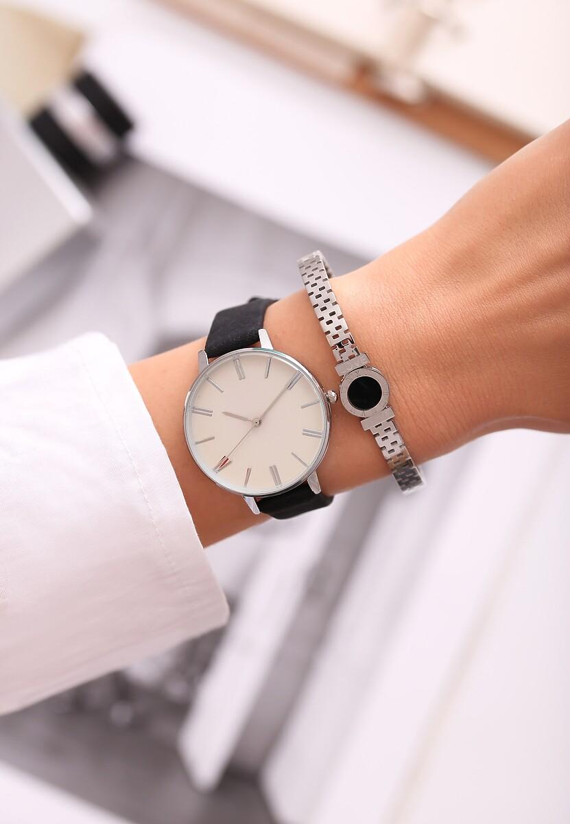 Czarno-Biały Zegarek Per diem