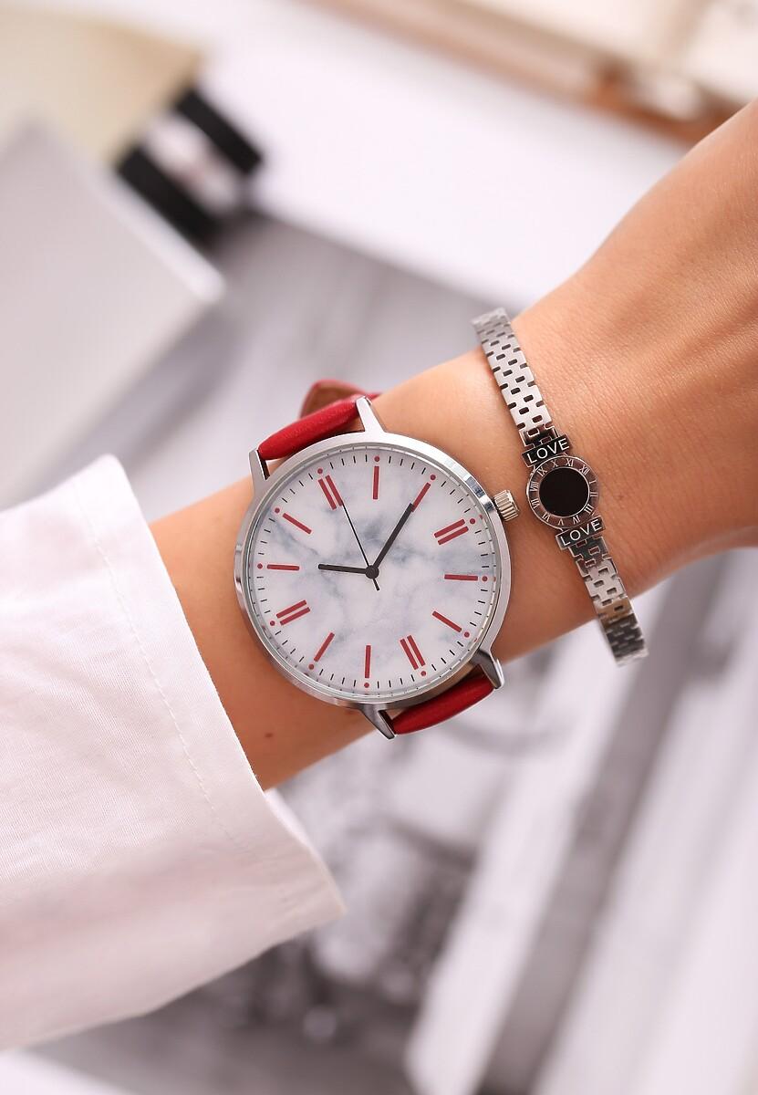 Czerwony Zegarek Orbit