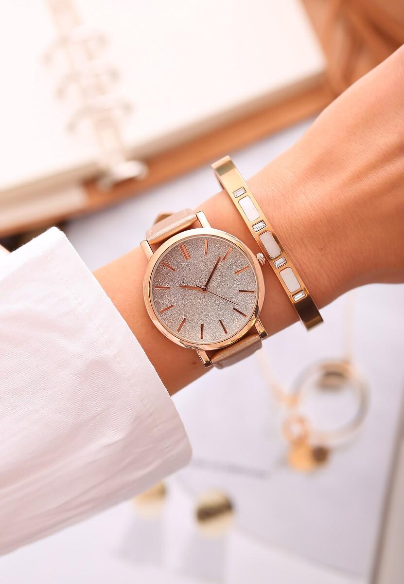 Beżowy Zegarek Perfekt