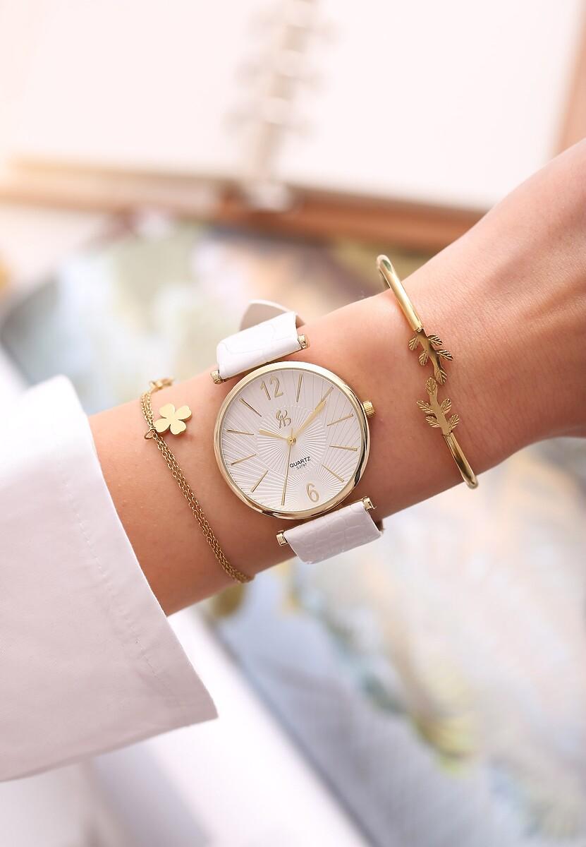 Biały Zegarek Be Kind