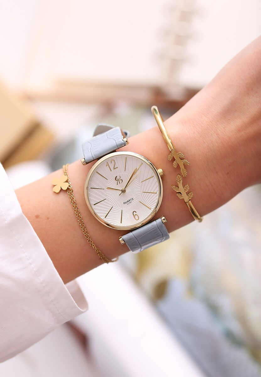 Jasnoniebieski Zegarek Be Kind