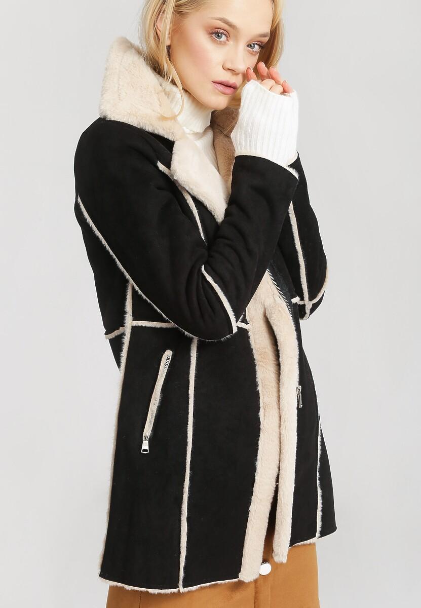 Czarny Płaszcz Well-Lighted