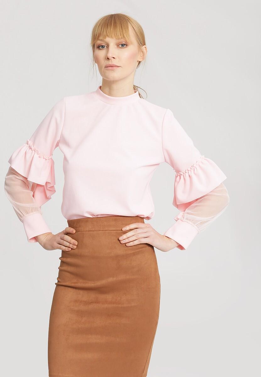 Różowa Bluzka Think Pink