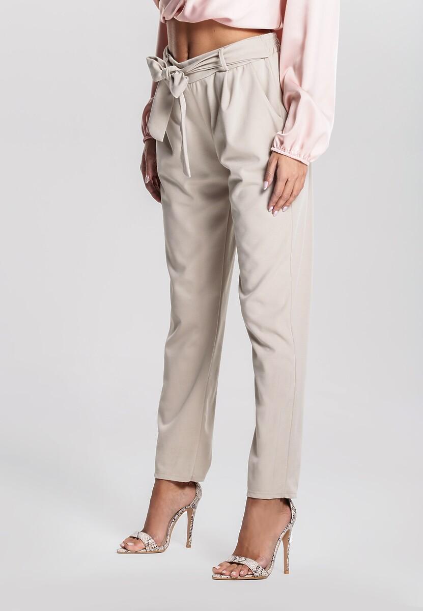 Jasnobeżowe Spodnie Ingenuity