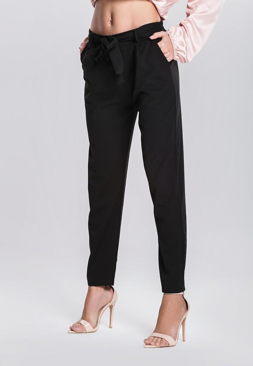 Czarne Spodnie Ingenuity