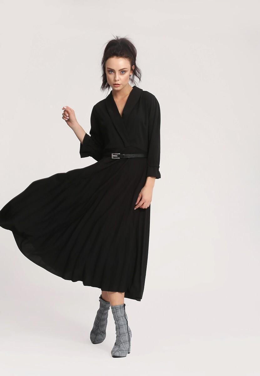 Czarna Sukienka Overtones