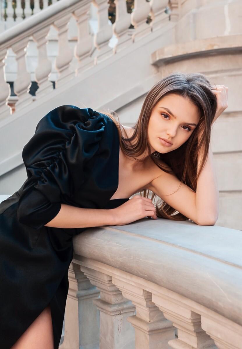 Czarna Sukienka Marie - Limited Edition