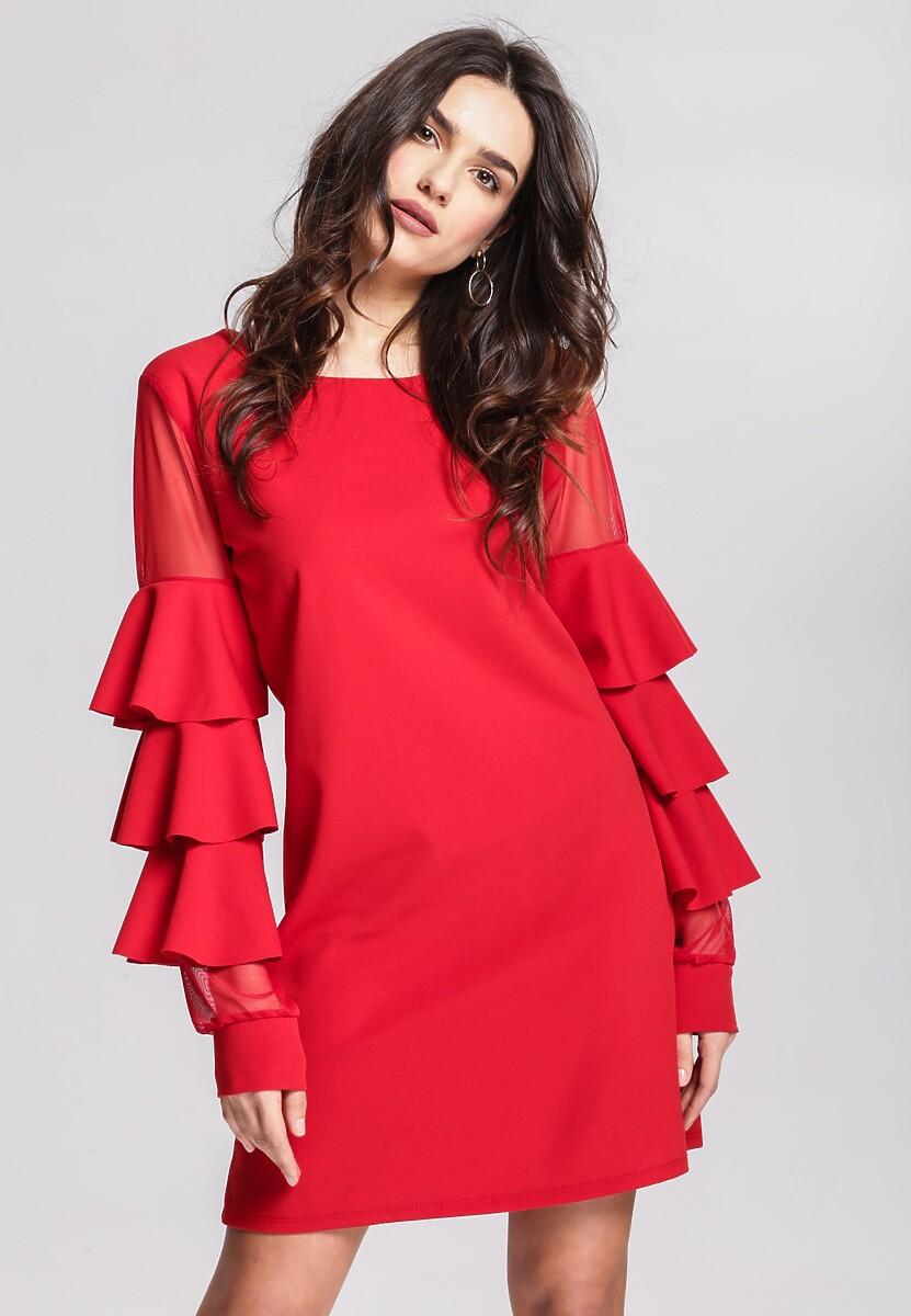 Czerwona Sukienka Aognizant