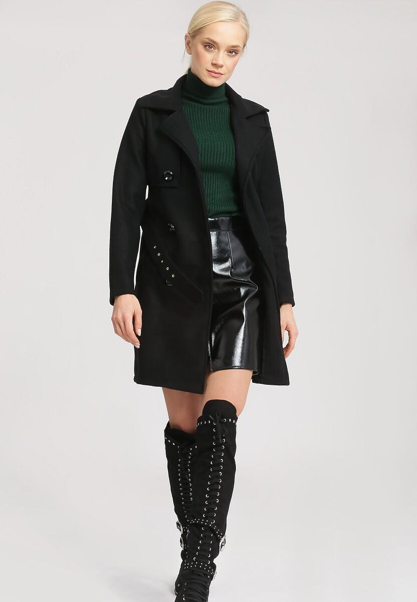 Czarny Płaszcz Back To Black