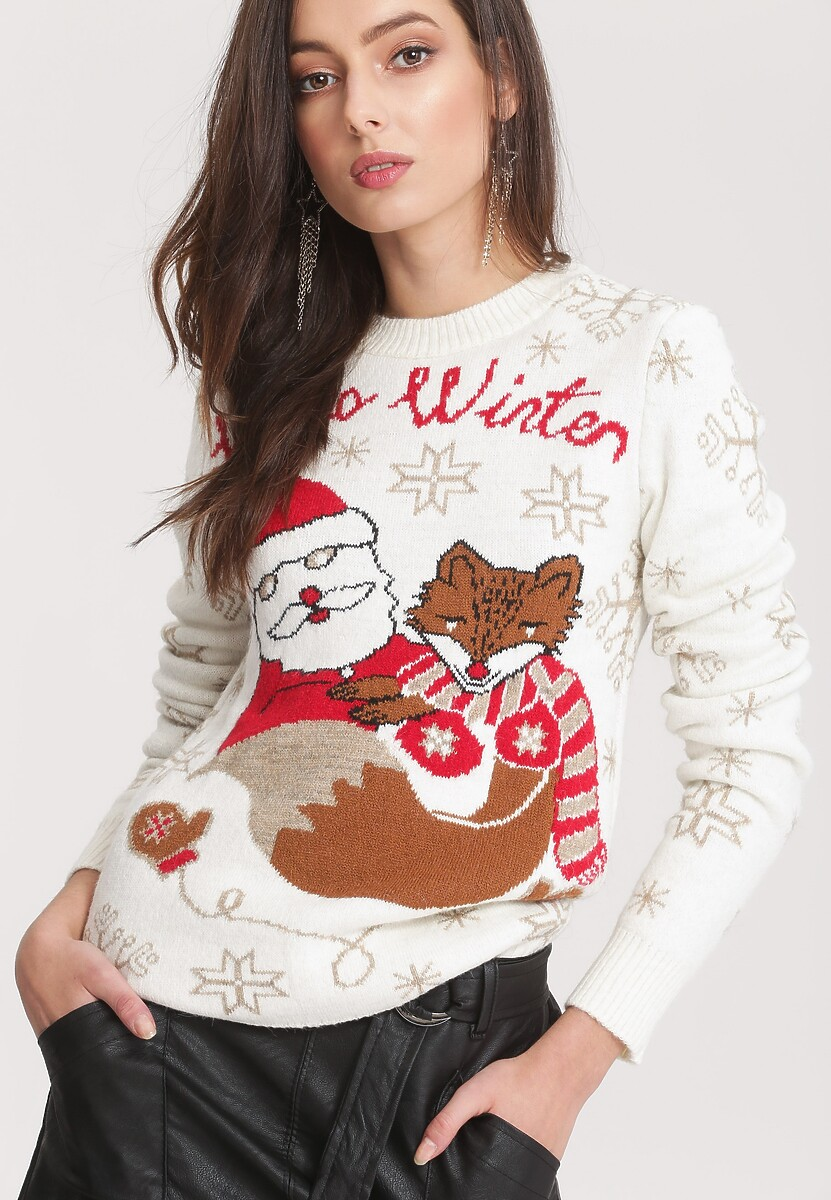 Kremowy Sweter Take A Look