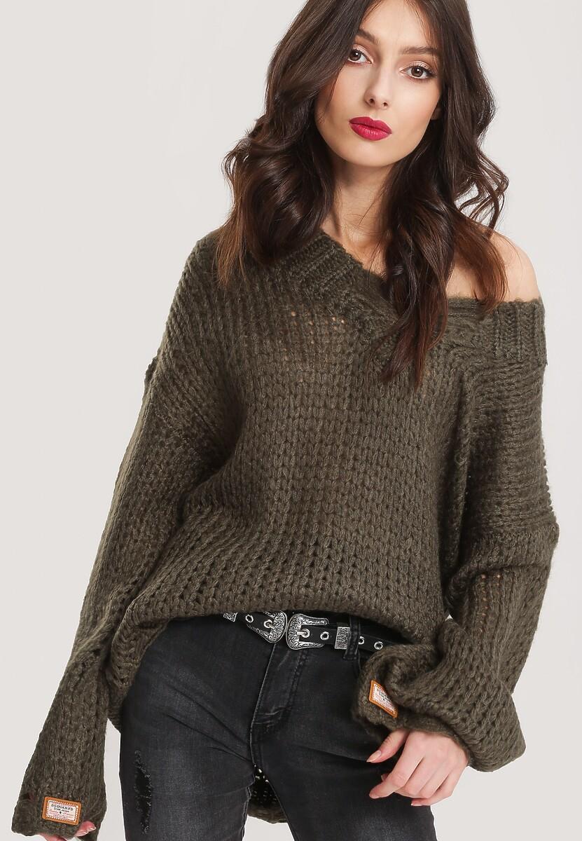 Zielony Sweter Ovation