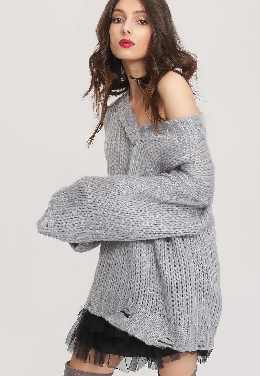 Szary Sweter Ovation