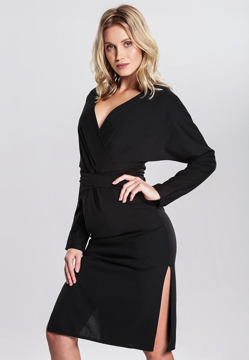 Czarna Sukienka Thermal