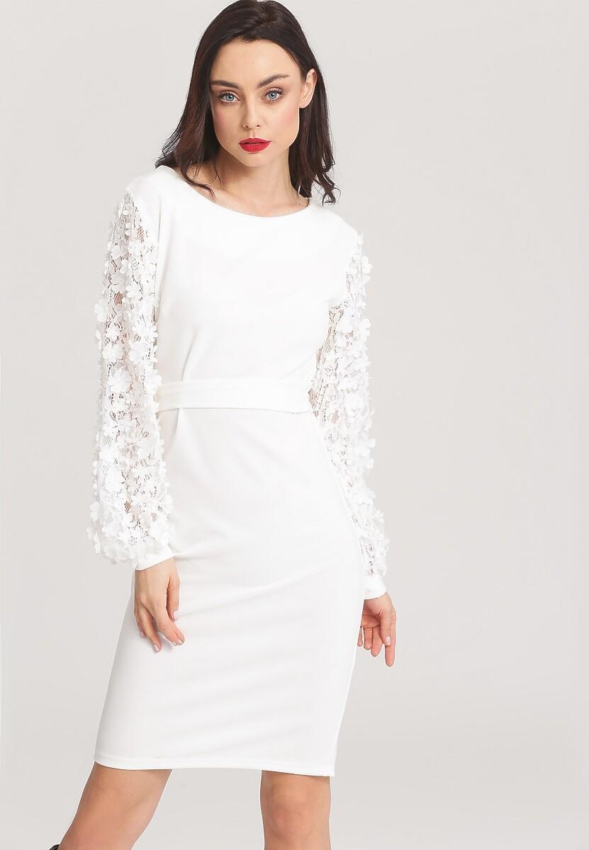 Biała Sukienka Melting