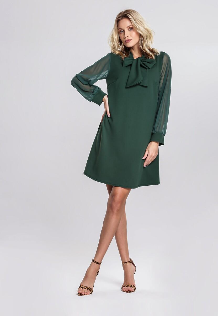 Zielona Sukienka Alpine