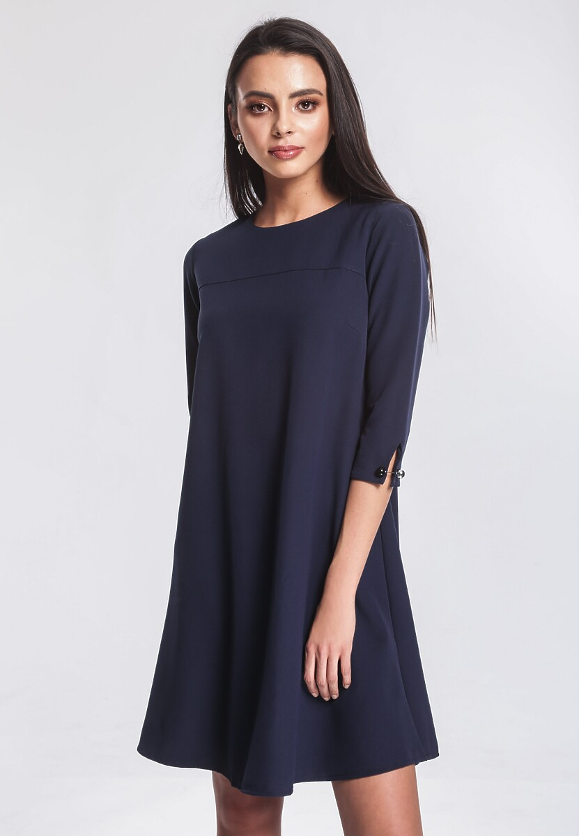 Granatowa Sukienka Superficially