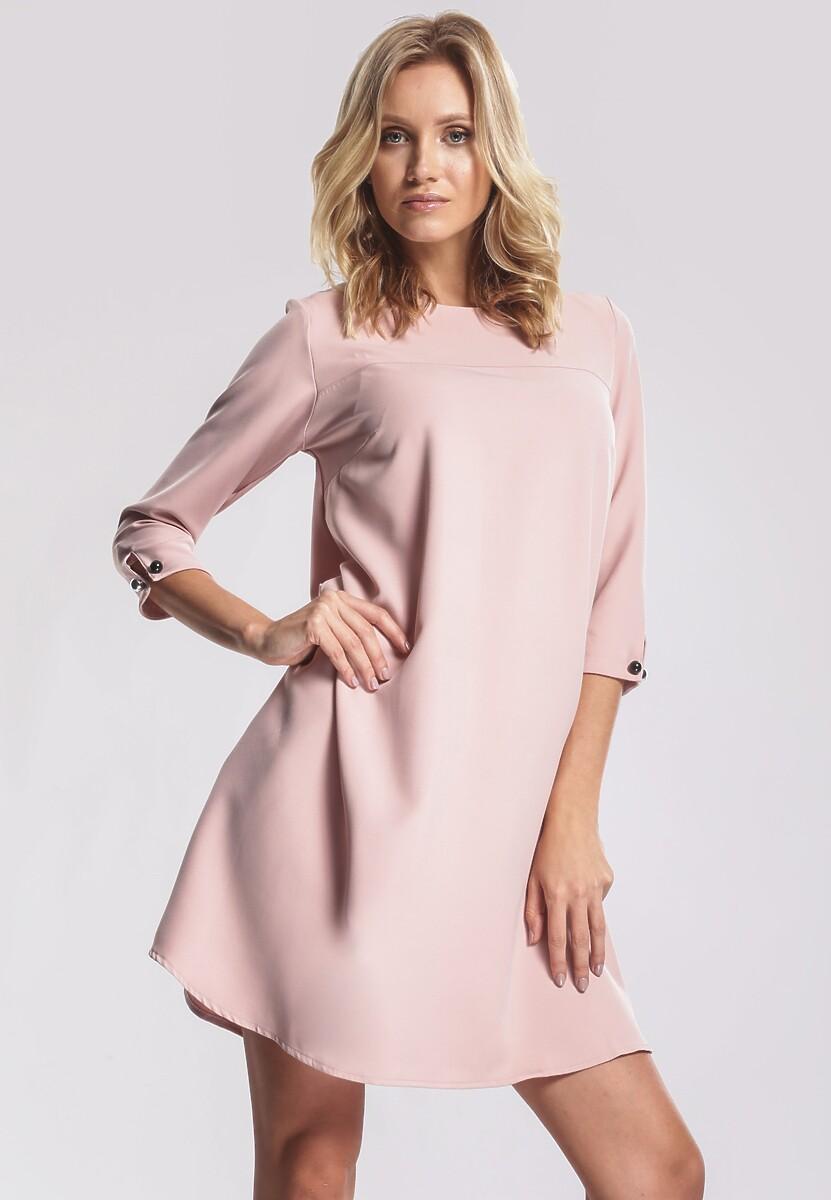 Jasnoróżowa Sukienka Superficially